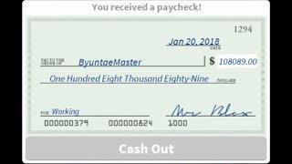 HOW TO GET 100K MONEY FAST NO HACK!   WELCOME TO BLOXBURG
