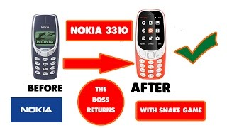 Nokia 3310 Launched MWC 2017 | The Boss Returns | Hindi