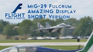 MiG-29 AMAZING VERTICAL TAKEOFF - 4K Video #MiG29