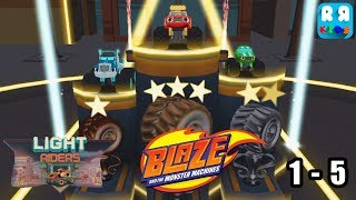 Blaze and the Monster Machines -  Light Riders Track 1 - 5