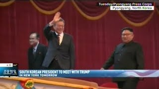 President Of South Korea Set To Meet With President Trump Tomorrow In New York