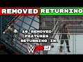 Download Video Download WWE 2K19: 10 REMOVED Features That Are Returning To The Series 3GP MP4 FLV