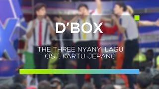 The Three Nyanyi Lagu OST  Kartun Jepang (D'Box)