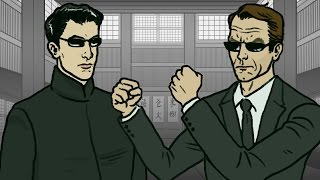 'The Matrix' Trilogy in 2.5 Minutes   TL;DW