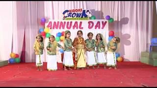 Kids dance oppana Kiddies  Crown preschool Pathanamthitta  & Konni..