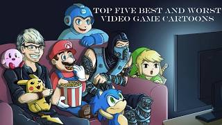 Top 5 best and worst video game cartoons
