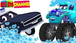 kids channel | car wash videos for children | cartoon car compilation for babies