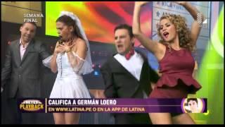 """Germán Loero puso a gozar a todos con el playback """"Párate y mira"""""""