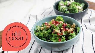 Brokoli Salatası | Diyet Yemekleri | İdil Yazar ile Yemek Tarifleri