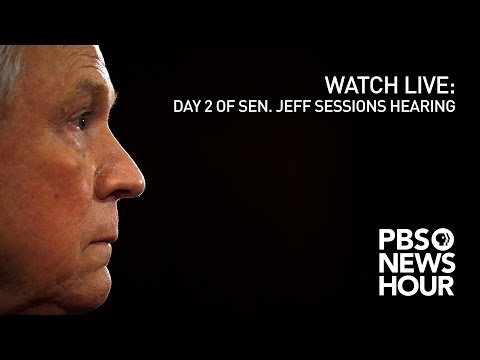 WATCH LIVE Day 2 of Sen. Jeff Sessions confirmation hearing