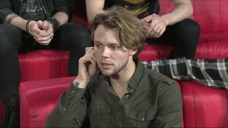 Interview with 5 Seconds of Summer - Idol Sverige (TV4)