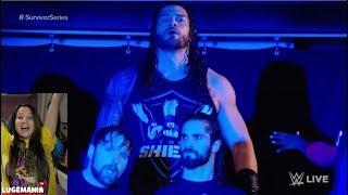 WWE Raw 10/13/17 Roman Reigns Returns to The Shield