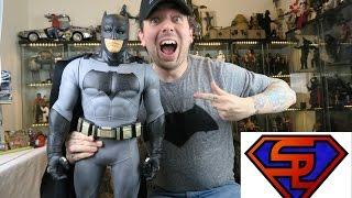 """Batman V Superman Dawn Of Justice Big-Figs Batman 31"""" Jakks Pacific Movie Action Figure Review"""
