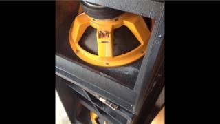 Folded Horn Subwoofer 18