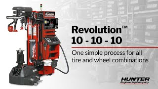 Hunter's Fully-Automatic Revolution Tire Changer