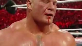 WWE Roman Reigns vs Brock Lesnar Best Fight 720p HD