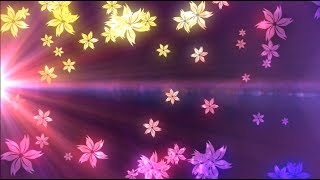 Flourish with Dancing Particles Background Motion Graphic Free Download
