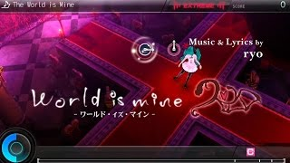 Hatsune Miku: Project DIVA F 2nd - The World is Mine (Extreme) [Perfect]