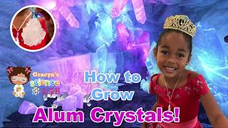 How to Grow Alum Crystal - Science for kids!