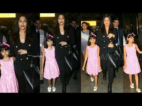 Xxx Mp4 Aishwarya Rai Bids Adieu To Cannes And Spotted At Mumbai Airport With Daughter Aaradhya Cannes 2019 3gp Sex