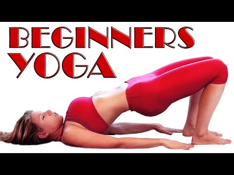 Beginners Yoga Flat Tummy, Abs & Core Foundations Class #2 - Basic Home Yoga Workout