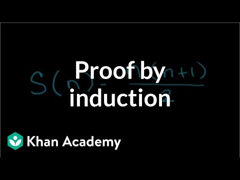 Proof by induction   Sequences, series and induction   Precalculus   Khan Academy
