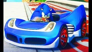 Sonic & All-Stars Racing Transformed / Cartoon Games Kids TV