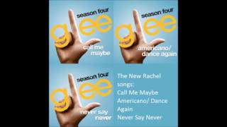 Glee - All Season 4 Songs - from The New Rachel to All Or Nothing