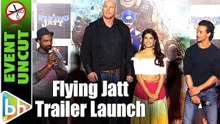 A Flying Jatt OFFICIAL Trailer Launch | Tiger Shroff | Jacqueline Fernandez | Nathan Jones