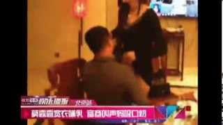 Hot News: Rich man pays 100,000 yuan to play Mom Breastfeeds Son with model