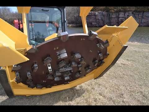 Skid Steer Forestry Mulcher Operating Techniques