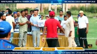 Mal Mazara Cosco Cricket Cup 2018