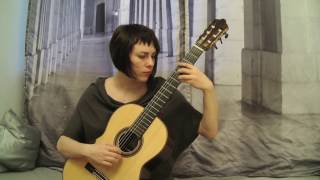 "Nikita Koshkin ""Prelude and Fugue in b-flat minor"" Asya Selyutina (live)"