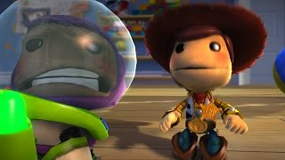 BUZZ LOOK AN ALIEN - Toy Story - LittleBigPlanet 3 Animation