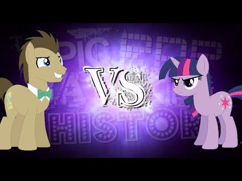 ERBOP: Twilight VS Doctor Whooves