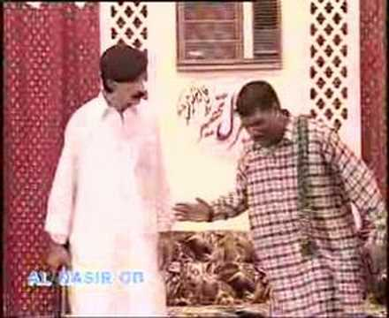 Amanat Chan And Iftkhar Thakur On Fire