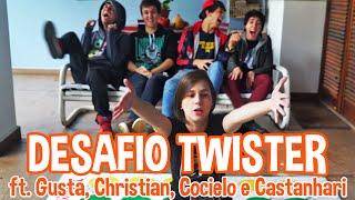 DESAFIO TWISTER - ft. Gusta, Christian, Cocielo e Castanhari