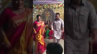 Dhakai sari  dance performance - (Tahmina's holud  night )