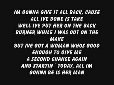Gary Allan Her man w lyrics