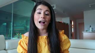 Arab/Mexican girl speaks 4 languages
