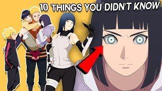 10 Things You Didn't Know About Hinata Hyuga aka Hinata Uzumaki - Boruto & Naruto
