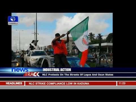 NLC Protest On The Streets Of Lagos And Osun States
