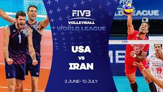 USA v Iran highlights - FIVB World League