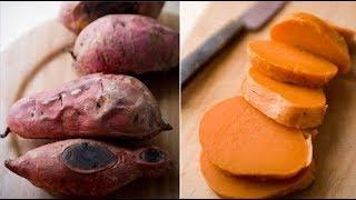 ستشتري كمية كبيرة من البطاطس الحلوة بعد هذا الفيديو إنها آية من آيات الله في الكون لن تصدق !