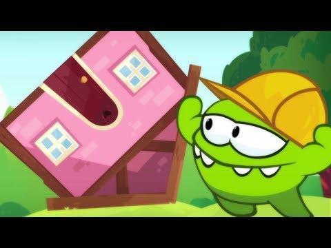 Xxx Mp4 Om Nom Stories THE BUILDER Cut The Rope NEW SEASON 7 DREAM JOB Cartoons For Children 3gp Sex