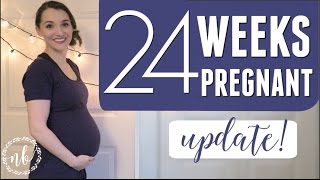 24 WEEKS PREGNANT | A Quick Update!