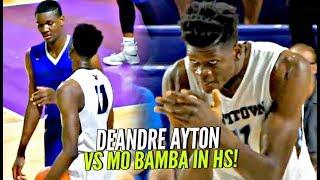 DeAndre Ayton vs Mo Bamba & His 7