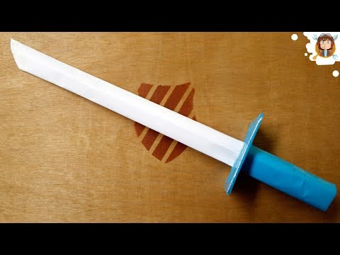 How to make a Paper Sword - (Tutorial)
