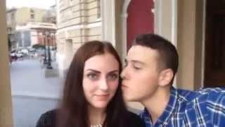 Kissing Selfie Prank