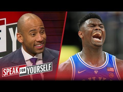 Dahntay Jones says Zion shouldn t sit out until the NBA Draft & Kyrie s apology SPEAK FOR YOURSELF